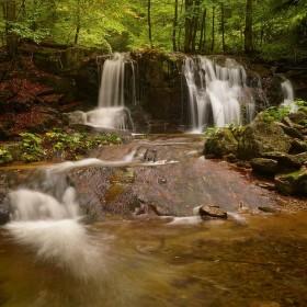 Poniklý potok-vodopád