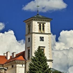 Bílá věž v Černé Hoře