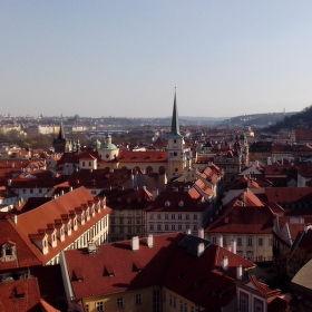 Zlatá Praha v jarním světle