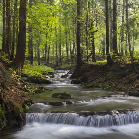 Potok Bystrá
