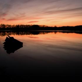 Podvečerní rybník Štěpán