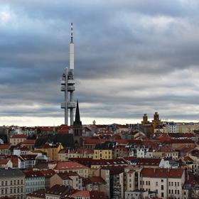 Pohled z Vítkova.