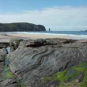 Sandwood Beach, Skotsko - pláž, kde se prý zjevují mořské panny