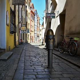 Ulička v Pardubice