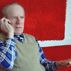 Děda a telefon