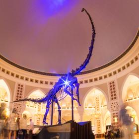 Dinosaurus v obchodním centru