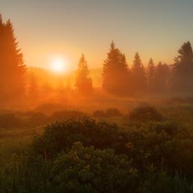 Svítání na Knížecích Pláních