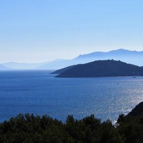 Modrá (ostrov Samos - Řecko)