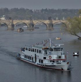Výhled na Karlův most