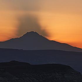 Stín hory