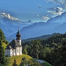 Wallfahrtskirche v Maria Gern