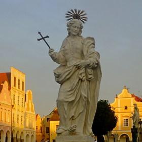 Svatí v Telči