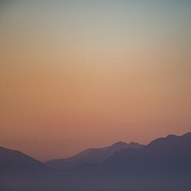 Západ na Korfu