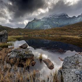 Bøvatnet_Lofoty_Norsko