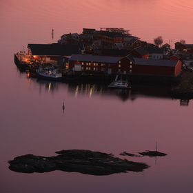 Norsko Reine předvýchodovka