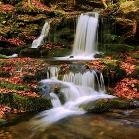 vodopády Skalního potoka II