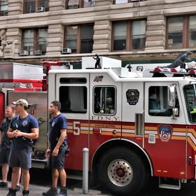 New Yorkští hasiči.
