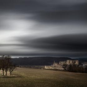 Mystický západ na hrade Beckov