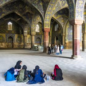 Šáhova mešita, Isfahán, Írán