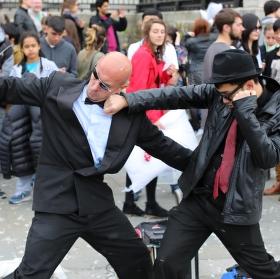 Momentka z Trafalgar square