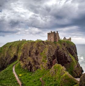 Dunnottar Castle, Skotsko