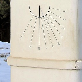 Sluneční hodiny.....