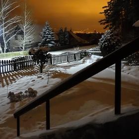 Půlnoc v Krušnohoří