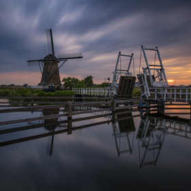 Kinderdijkské zátiší - Holandsko :-)