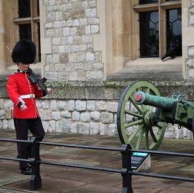 Stráž v pevnosti Tower
