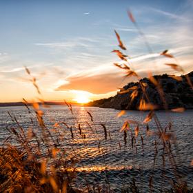 Chorvatský západ slunce