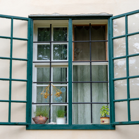 Okno do oázy klidu ...