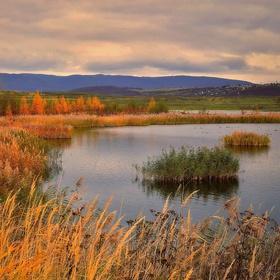 Jezero Milada na podzim