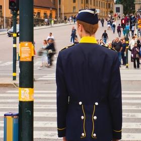 Voják na přechodu