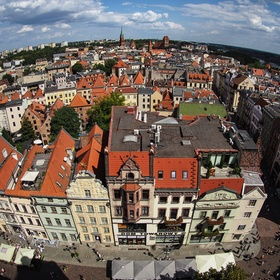 Panorama Toruně