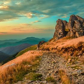 Překrásné ráno Karpat
