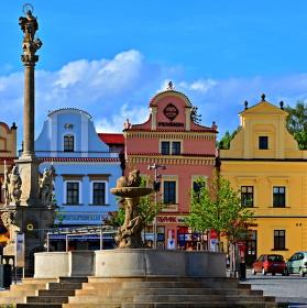 Historická část náměstí v Havl. Brodě