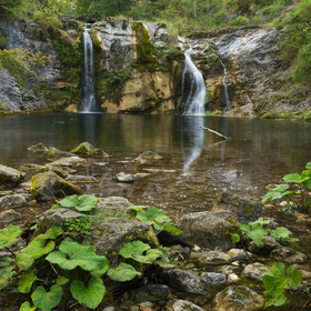 Vodopád na říčce Lassingbach