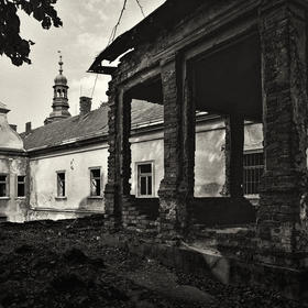 ...zámek Vysoký Újezd...
