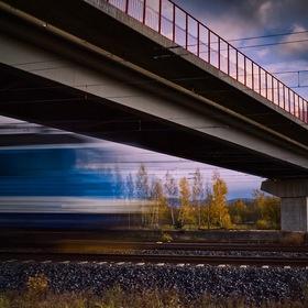 Přijíždějící vlak