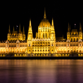Budapešť - parlament
