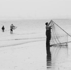 Rybaření v Le Havru..