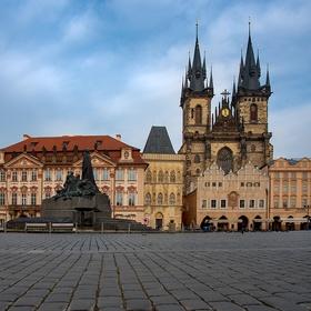Praha v karanténě
