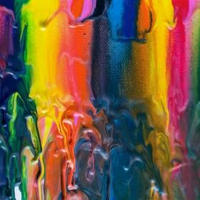 Abstrakce z voskovek