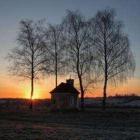 Ráno pri kaplnke