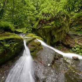 Vodopád Plešického potoka