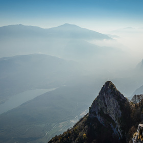Neviditelné Lago di Garda