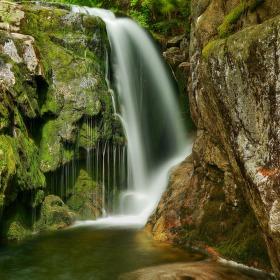 Labský vodopád