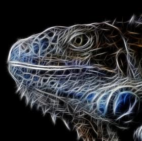 Fractalius - Mecha drak