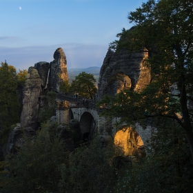Podvečerní Bastei