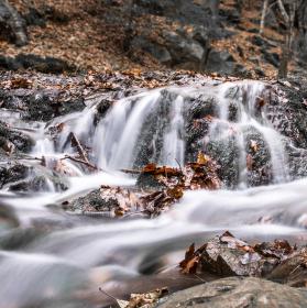 Podzimní vodopády III.